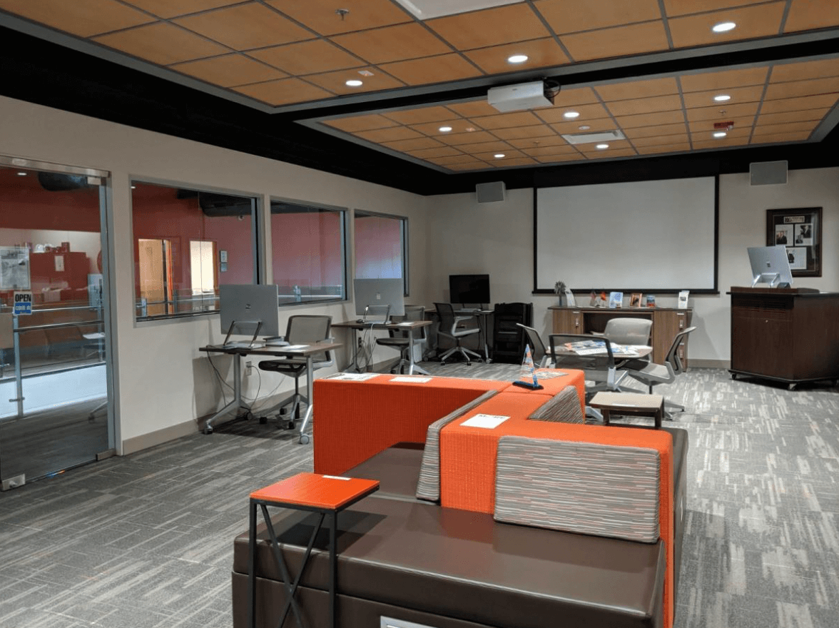 Center For Entrepreneurial Success workspace.