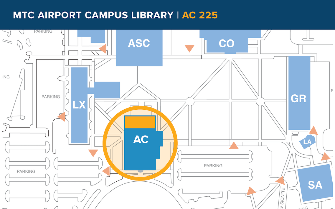 Airport campus map