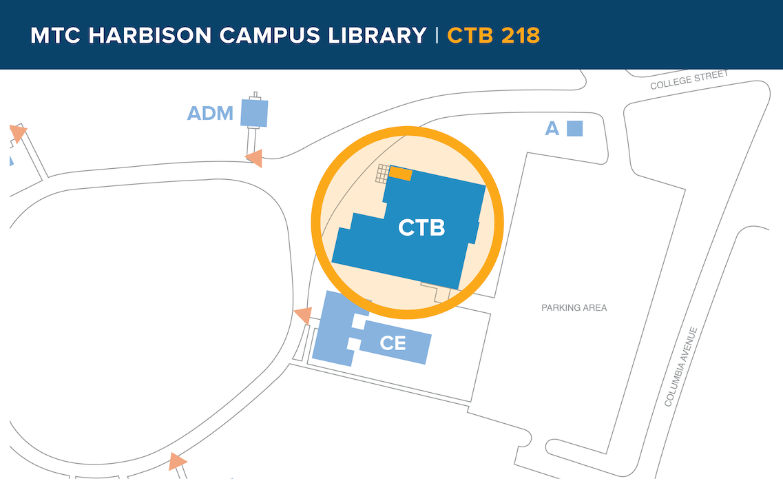 Harbison Campus map